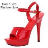Pole Dance Shoes Stripper High  Heels Women Sexy Show Shoes Sandals Party Club 13 15 17 CM Platform High-heeled Shoes Wedding