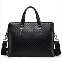 New Fashion Men's Business Briefcase Casual Shoulder Bag Double Layers Laptop Bag Large Capacity Male Handbag Travel Bag