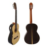 Custom Yulong Guo Nomex Double Top Ziricote Back and Side Concert Classic Guitar