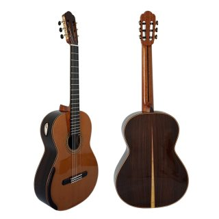 Aiersi Yulong Guo Handmade Double Top Classical Guitar Model Chamber GC02A