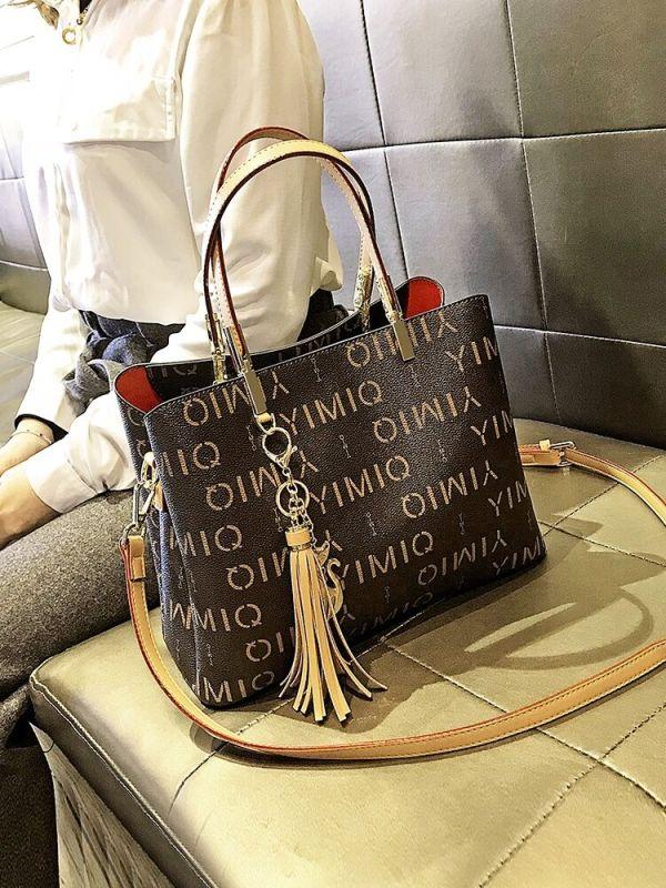 shoulder bags large capacity female big totes designer luxury soft pu leather lady purses