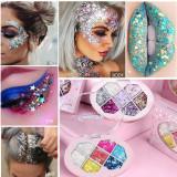 Seven color diamond eyeshadow