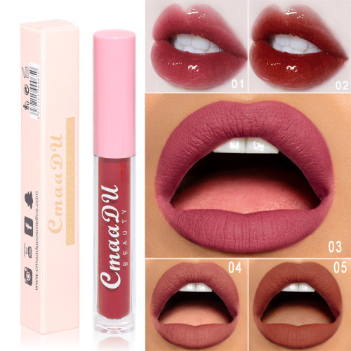 Matte non-stick cup liquid waterproof lip glaze
