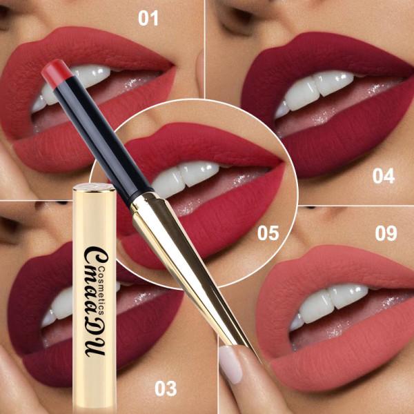 Gold bullet matte lipstick