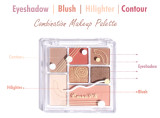 Seven-color eyeshadow highlight palette