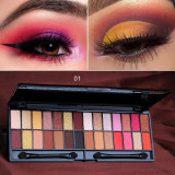 28 color eyeshadow palette beauty matte pearlescent