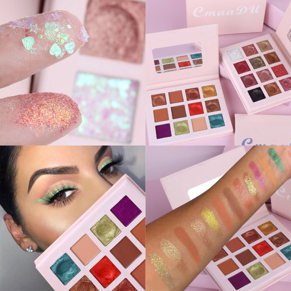 12 color mashed potatoes with glitter powder