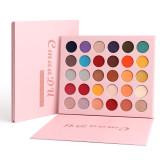 30 color matte eyeshadow metal waterproof pearl glitter eyeshadow palette