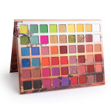 54 color matte eyeshadow glitter powder sequin metal