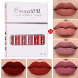 Set of 6 Matte Non-stick Cup Waterproof Lipstick Long Lasting Lip Gloss