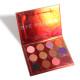 DUNUF 12 color eyeshadow glitter