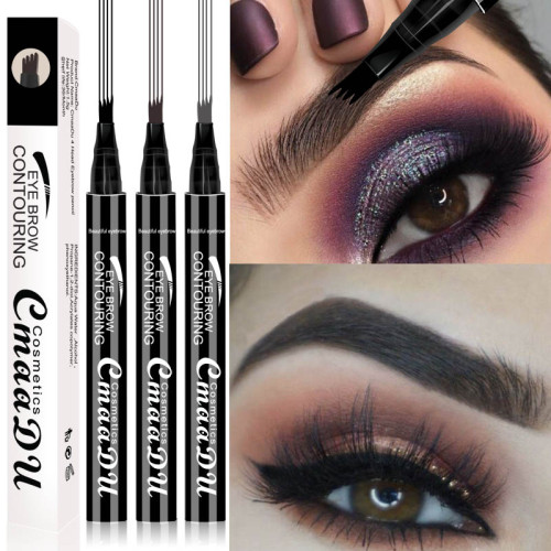 4 prong eyebrow pencil 4 liquid eyebrow pencil