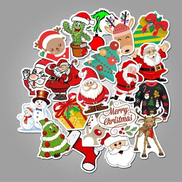 Christmas Cartoon ( 50 Pcs )