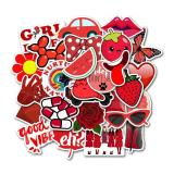 Red Cartoon ( 50 Pcs )