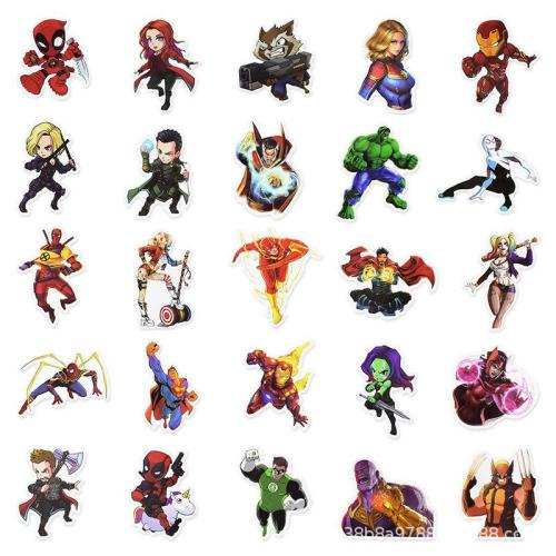 Super Hero C ( 50 Pcs )