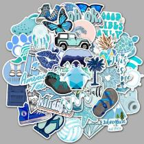 Blue Cartoon ( 50 Pcs )