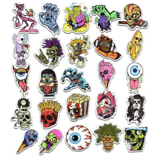 Skull Cartoon ( 50 Pcs )