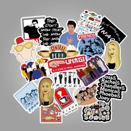 Friends Cartoon ( 50 Pcs )