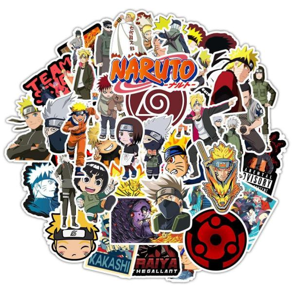 Cartoon Character Naruto ( 50 Pcs )