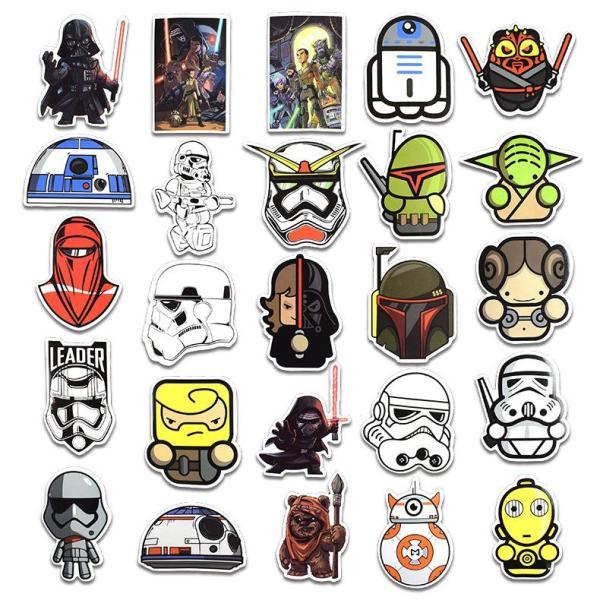 Star wars Cartoon ( 100 Pcs )