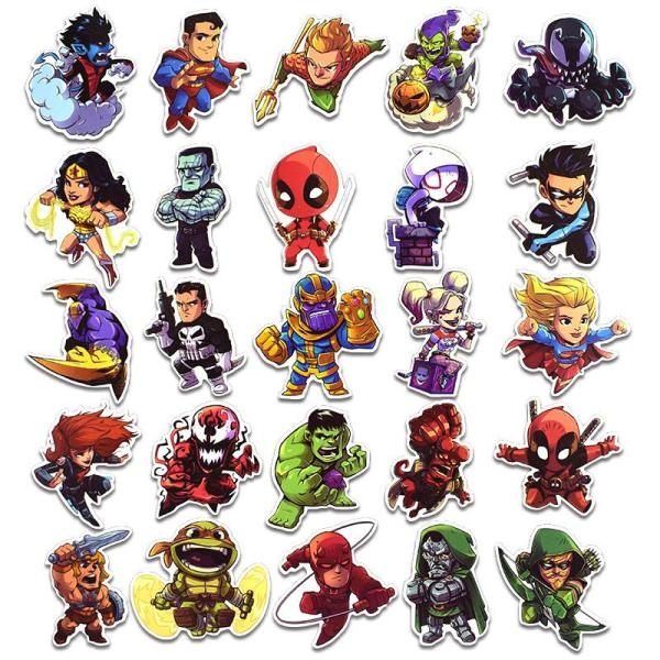 Super Hero B ( 50 Pcs )
