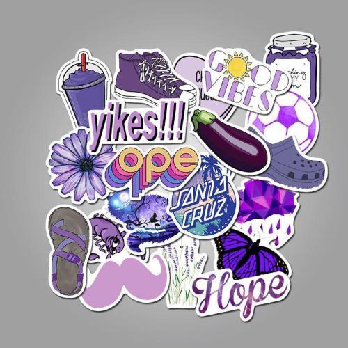 Vsco Purple ( 50 Pcs )