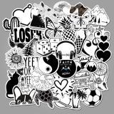 Black and white Cartoon ( 50 Pcs )
