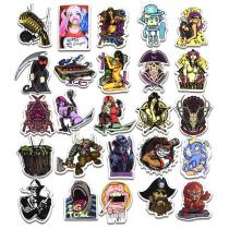 Terror Cartoon ( 100 Pcs )