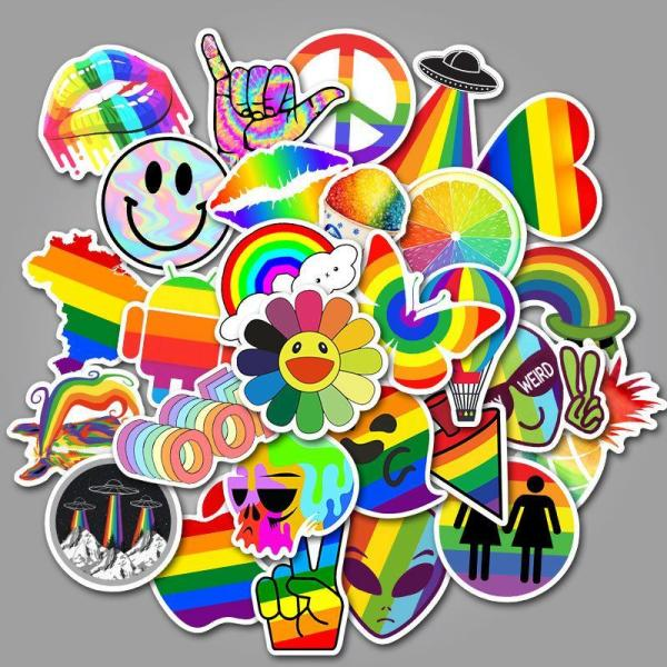 Rainbow Cartoon ( 50 Pcs )