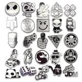Silver Cartoon ( 50 Pcs )