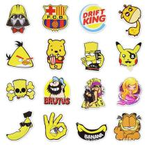 Yellow Cartoon ( 50 Pcs )