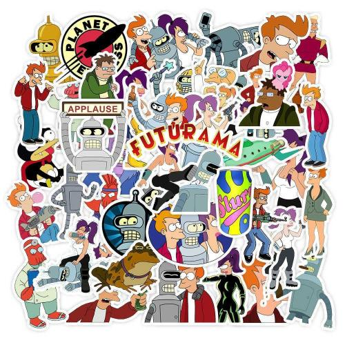 Futurama Cartoon ( 50 Pcs )