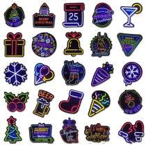 Neon Christmas ( 25 Pcs )