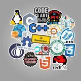 Software Developer Cartoon ( 50 Pcs )