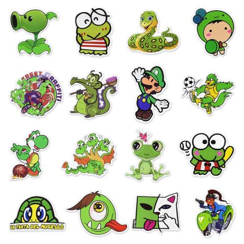 Green Graffiti ( 50 Pcs )