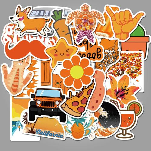Cute Orange Cartoon ( 50 Pcs )