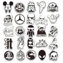 Black and white ( 100 Pcs )