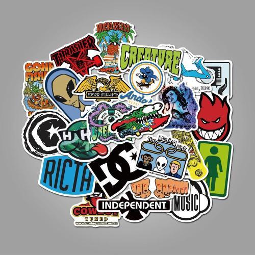 Skateboard Brand ( 50 Pcs )