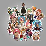One Piece Cartoon ( 50 Pcs )
