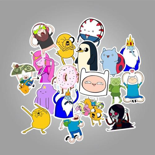 Adventure Time Cartoon ( 50 Pcs )