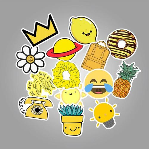 Yellow VSCO ( 50 Pcs )