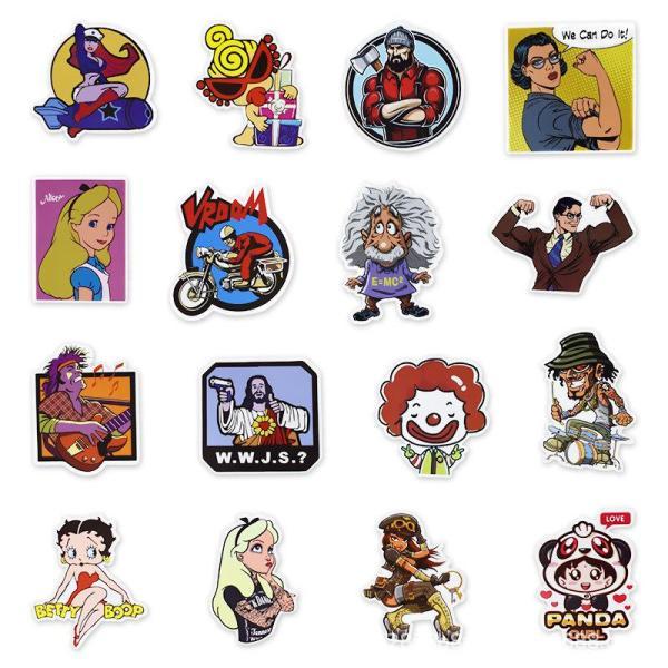 Character Cartoon ( 50 Pcs )