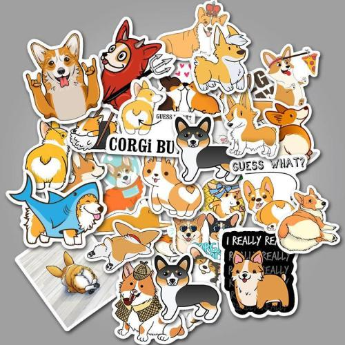 Welsh Corgi ( 50 Pcs )