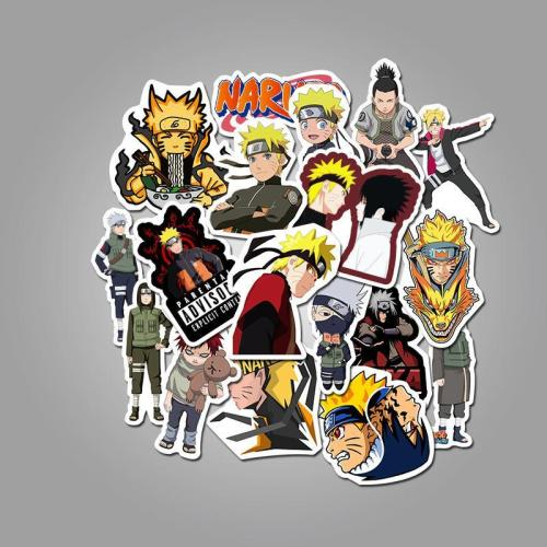 Cartoon Character Naruto ( 50 Pcs )
