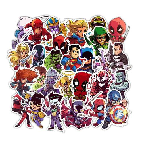 Super Hero Cartoon ( 50 Pcs )