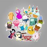 Adventure Time Cartoon ( 50 Pcs )