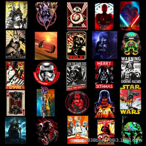 Star wars Graffiti ( 50 Pcs )