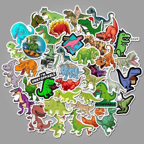 Dinosaur Cartoon ( 50 Pcs )