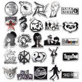 Silver Music ( 50 Pcs )