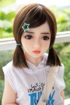 可愛い妹 彩 130cm 中乳 童顔系 ラブドール 高級TPE製人形 日本語発声対応可